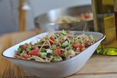 Skinny Pasta Recipe   Divas Can Cook