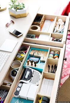 100+ Desk organisation ideas | desk organization, room ...