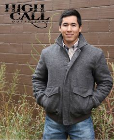 Men's coats in stock!! Call us at 620.796.2355 to order yours today!