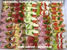 minichlebíčky, www.cukrovi-kuncovi.cz slané dorty, jednohubky, kanapky, obložené mísy Kuncovi, Brno - Maloměřice, Hádecká 8