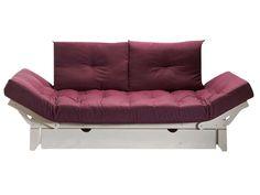 matelas futon pour banquette emiko coloris rouge vente de banquette clic clac et bz. Black Bedroom Furniture Sets. Home Design Ideas