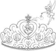 prinsessen kroontje kleurplaat kleurplaat prinses