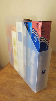 Organization - you can use 12x12 paper organizers