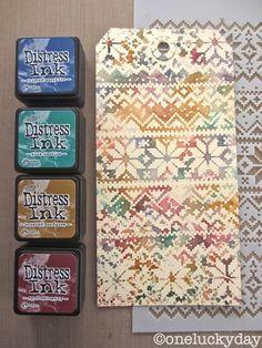 mini set 12 - holiday knits layering stencil