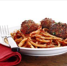 Spaghetti and meatballs !love it