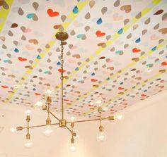 Fun ceiling!