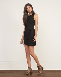 Womens Wrap-skirt Dress | Womens Dresses & Rompers | Abercrombie.com