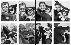 harley quinn and joker cosplay | Cute Harley and Joker photo booth art comes to life in cosplay