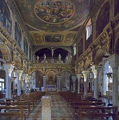 San Nicolò dei Mendicoli (Venice) - Churches in Venice - interior