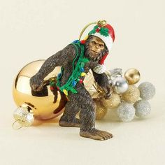 Bigfoot, the Holiday Yeti Holiday Ornament $9.95