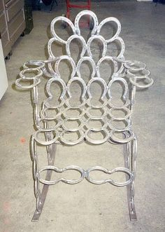 Horseshoe chair