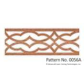 Laser cut fretwork can be used for furniture, crown molding or base moulding…