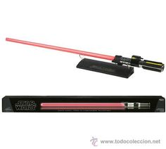 STAR WARS. ESPADA LASER MASTER REPLICAS- DARTH VADER