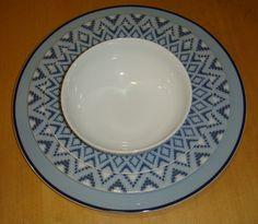 Mediterranean blue decor: Nice Decorative Plates, Porcelain, Tableware, Nice, Home Decor, Porcelain Ceramics, Dinnerware, Decoration Home, Room Decor