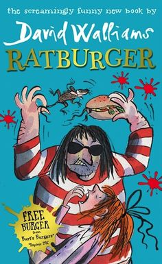 Wacky, laugh out loud and with a bit of the gruesome thrown in for good measure Ratburger is an incredibly enjoyable, fast paced novel from David Walliams.