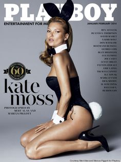 Kate Moss by Mert & Marcus for Playboy