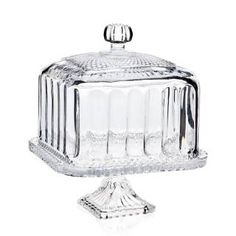 Godinger Silver Art Co Belmont Domed Cake Stand