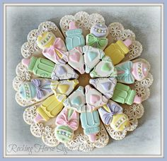 Lynne's Platter Cookie Cutter Set and Fondant Cutter and Clay Cutter Horse Cookies, Baby Cookies, Baby Shower Cookies, Iced Cookies, Cut Out Cookies, Cute Cookies, Cupcake Cookies, Pizza Cookies, Baptism Cookies