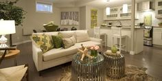 you need good lighting and the right paint colour for a dark basement, familyroo. you need good lighting and the right paint colour for a dark basement, familyroom or suite Small Basement Remodel, Dark Basement, Basement Walls, Basement Bedrooms, Basement Remodeling, Basement Laundry, Modern Basement, Basement Kitchen, Basement Paint Colors