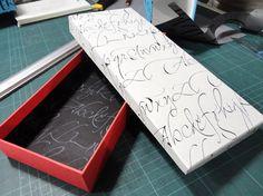 Taller de Diseño y armado de cajas por María Elvira Maggi utilizando mis diseños realizados por Papelera Palermo.