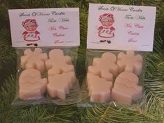 MRS. CLAUS COOKIES Scented Wax Melts - Tarts - Wickles Candle - Christmas Shapes - Mitten - Christmas Tree - Flower - Gingerbread Man on Etsy, $10.27 CAD