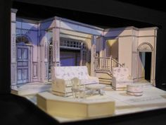 The Sisters Rosenweig Stage Set Design, Set Design Theatre, Doll House Play, Architectural Sketches, Honey Brown, Scenic Design, Beauty And The Beast, Puppets, Game Art