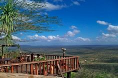 Loisaba Lodge - unrivalled views from Loisaba's main deck over the stunning Laikipia plains all the way to Mt Kenya...