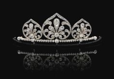 Diamond tiara/necklace, circa 1910 | lot | Sotheby's
