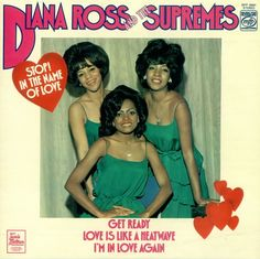 The Supremes Album Covers