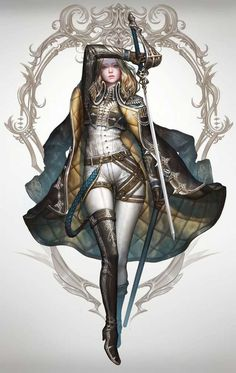 Tagged with art, fantasy, dnd, roleplay, dungeons and dragons; Fantasy Females (various artists) Female Character Design, Character Design Inspiration, Character Concept, Character Art, Concept Art, Painting Inspiration, Fantasy Warrior, Fantasy Rpg, Fantasy Sword