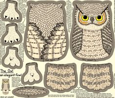 Many, many, free hand-designed plushie patterns @ a cool site called Spoonflower