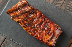 Pork Ribs Grilled, Grill Pan, Grilling, Photos, Crafts, Classic Plates, Best Side Dishes, Pork Spare Ribs, Barbecue Sauce