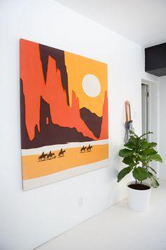 Modern Southwest Bedroom
