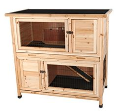 Spiffy Large Indoor Rabbit Hutch Ideas Like this ready made 2 story indoor rabbit hutch, For Keeping Your Pet Rabbit Happy, Healthy and hopping around your home. Including diy bunny cages, rabbit runs and bunny yards. Rabbit Hutch Indoor, Indoor Rabbit Cage, Bunny Cages, Rabbit Cages, Metal Lattice, Bunny Hutch, Small Animal Cage, Small Animals, Animal 2