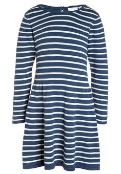 Bestill Name it NITGETIMMA MINI - Strikket kjole - ensign blue for kr 149,00 (09.12.17) med gratis frakt på Zalando.no Sweaters, Blue, Tops, Women, Fashion, Moda, Fashion Styles, Sweater, Fashion Illustrations