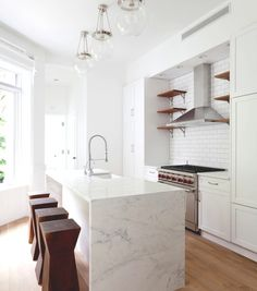 Clean understated unique Brooklyn Townhouse