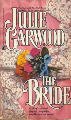 This is the book that introduced me to Julie Garwood. This book, this cover. She is one of my favorite historical romance authors my other swagger half reads her contemporary stuff but never knew about the historical. Sacrilege I tell you! I loved Jamie. She is a great heroine sweet and tough. The secondary adds laughter and their crazy quirks to make this a book I enjoyed rereading often.
