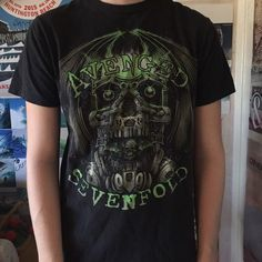 Avenged Sevenfold T-Shirt Avenged Sevenfold T-Shirt / slightly faded Hot Topic Tops Tees - Short Sleeve