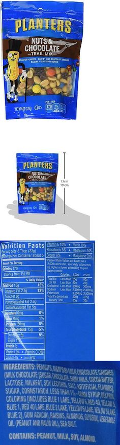 Trail Mix 179193: Planters Nuts And Chocolate Trail Mix 12 Bags, 6 Oz., Assorted -> BUY IT NOW ONLY: $66.36 on eBay!