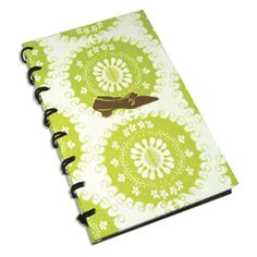 Exquisite fabric journal with 224 blank & lined ivory pages.  From new collection of Cid Pear Fine Stationery