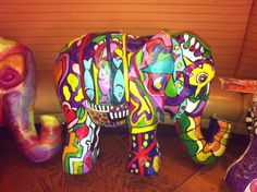 Oaxacin Art elephant.