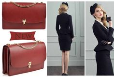 The red Tiffany leather bag is an elegant and refined accessory perfect for your stylish outfits @wi