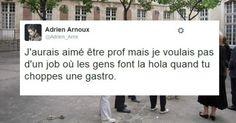 Top 12 des meilleurs tweets d@Adrien_Arnx du lol en hashtag