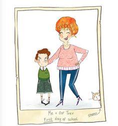 Trev's first day Childrens Books, Princess Zelda, Illustration, Instagram Posts, Fictional Characters, Inspiration, Art, Children's Books, Biblical Inspiration