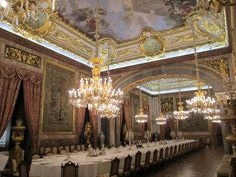 A look at the State dining room.