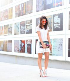 Look of the Day: White Summer Dress