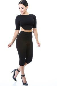 B*Envied Online Clothing Boutique - Bottoms Online Clothing Boutiques, Boutique Clothing, Sporty, Capri, Pants, How To Wear, Stuff To Buy, Clothes, Tops