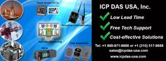 ICP DAS USA provides data acquisition and industrial control products for your control & monitoring systems. More info: www.icpdas-usa.com?r=pinterest