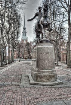 Paul Revere Statue - Boston, Massachusetts