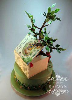 Beatrix Potter Cake - inspiration for the nursery
